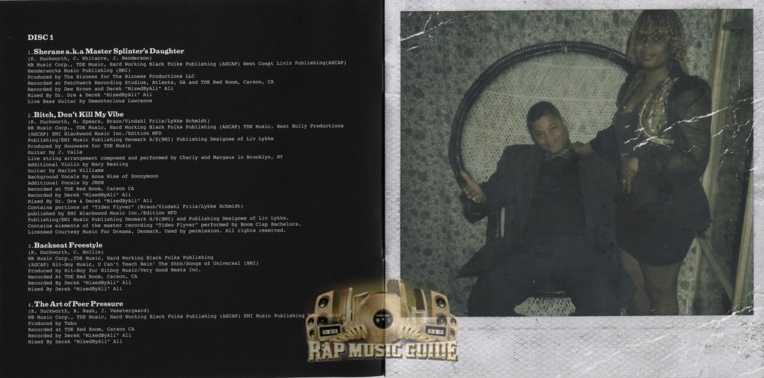 Kendrick Lamar Good Kid Maad City Deluxe - Image Mag