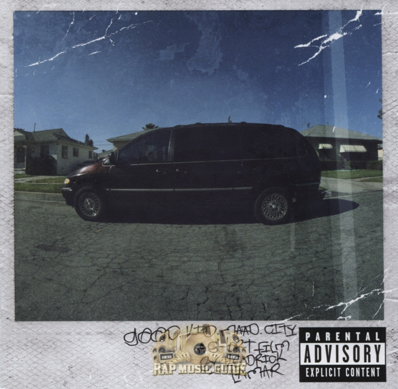 Kendrick Lamar Good Kid In A Maad City Deluxe Edition