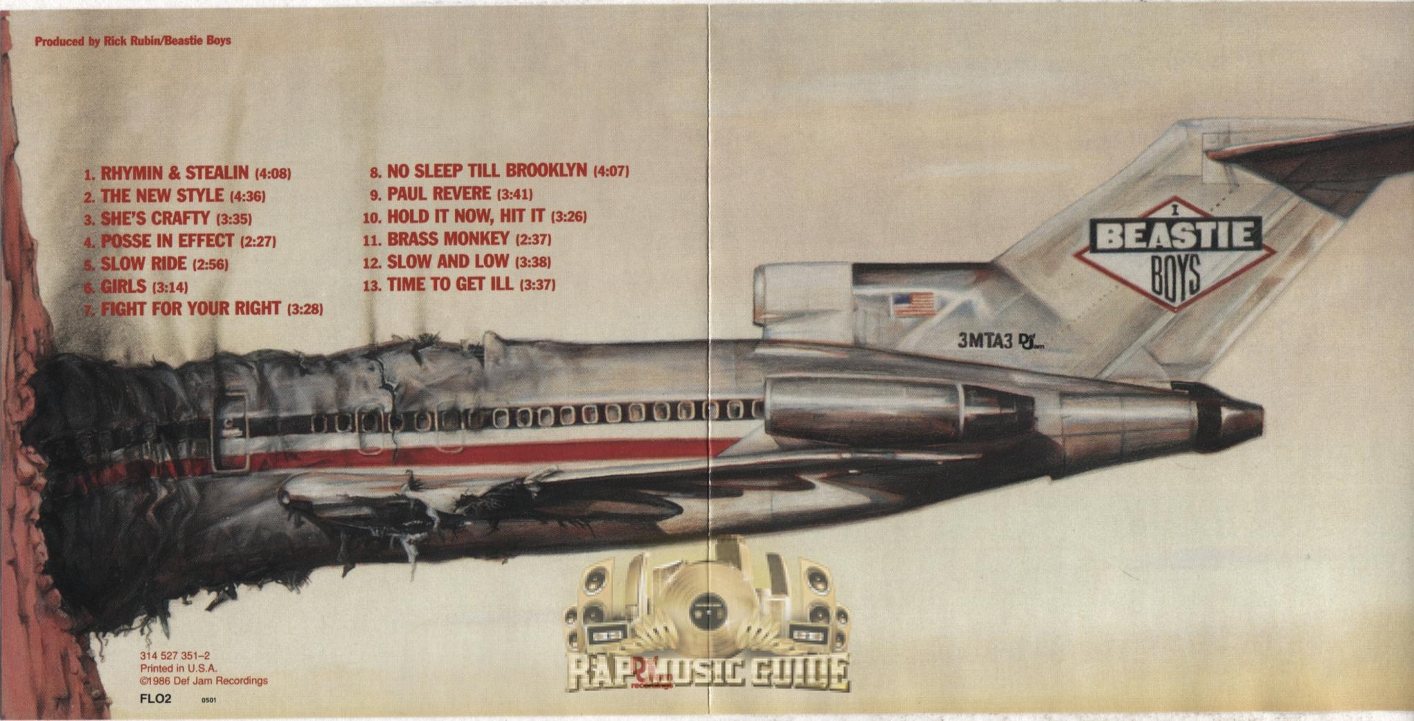 Beastie Boys Licensed To Ill Instrumentals