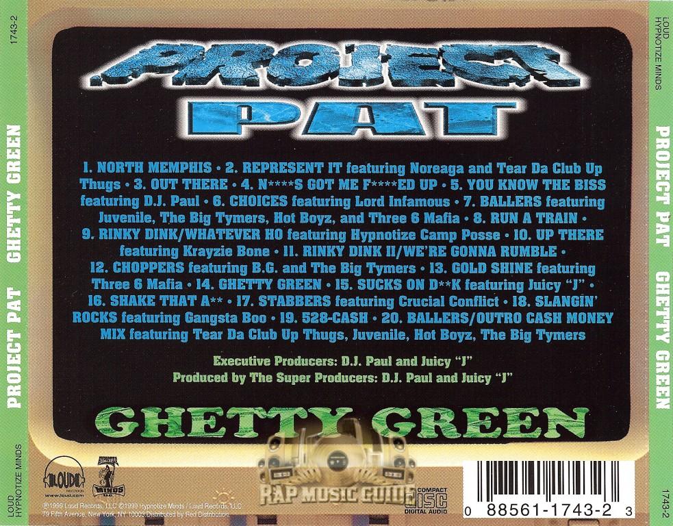 Project pat, ghetty green full album zip prds66.