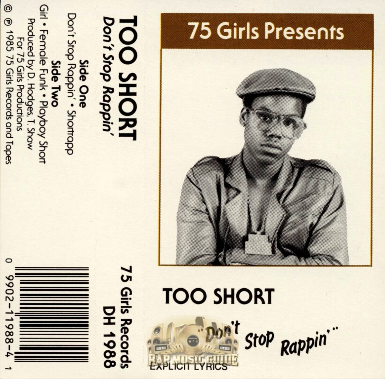 Too Short – Don't Stop Rappin'  (1985)[INFO]
