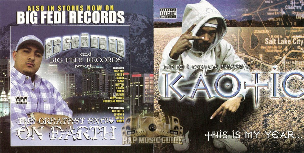 Kaotic - This Is My Year: CDs | Rap Music Guide