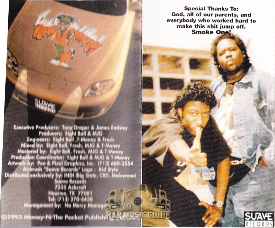 Eightball & MJG - Coming Out Hard Lyrics