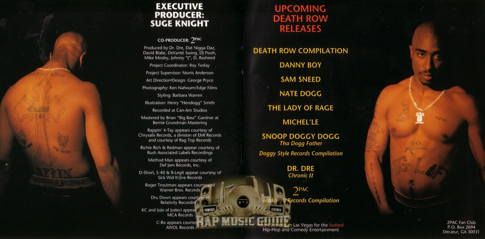 2pac all eyez on me cds rap music guide