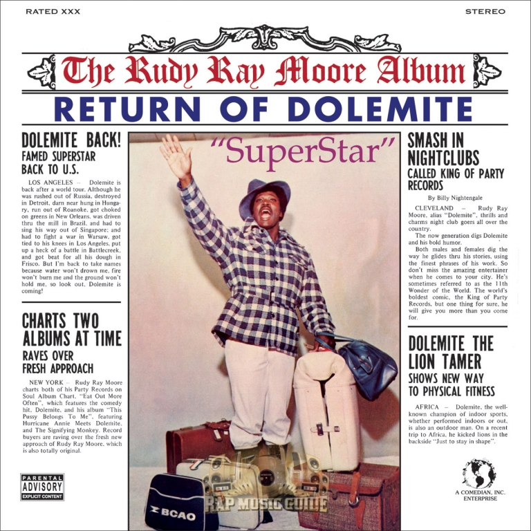 Rudy Ray Moore Return Of Dolemite Re Release Cd Rap Music Guide Click on the different category headings to find out more and change our default settings. rudy ray moore return of dolemite re