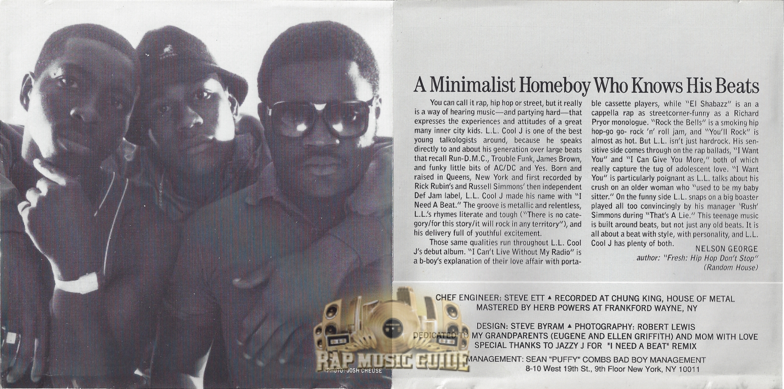 l l cool j radio cd rap music guide