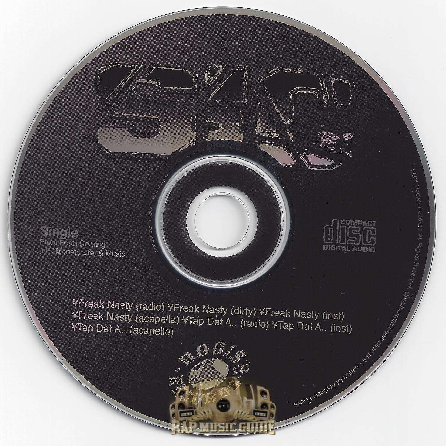S I C Freak Nasty Tap Dat Ass Single Cd Rap Music