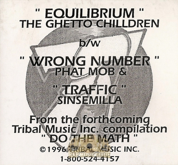 Tribal music inc do the math ep record rap music guide - Welcome to the ghetto instrumental ...