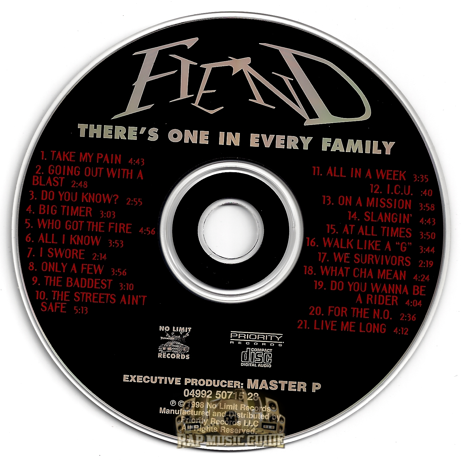 Fiend - There's One In Every Family: CD | Rap Music Guide