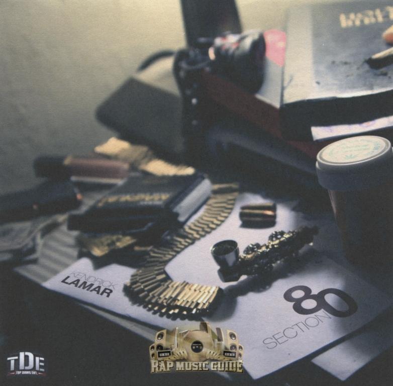 Kendrick Lamar - Section.80: CD   Rap Music Guide