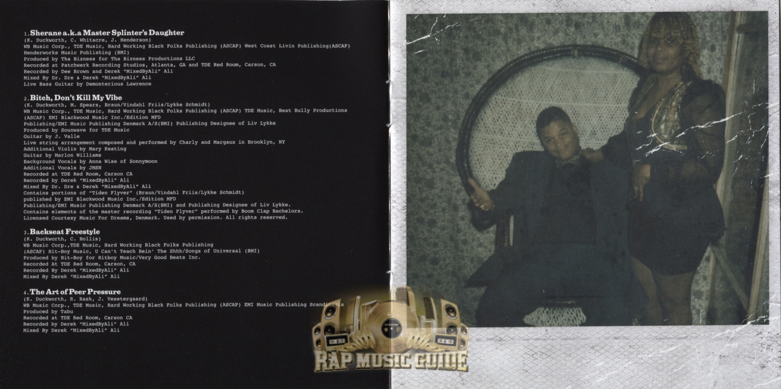 Kendrick Lamar - Good Kid, m.A.A.d City: CD | Rap Music Guide