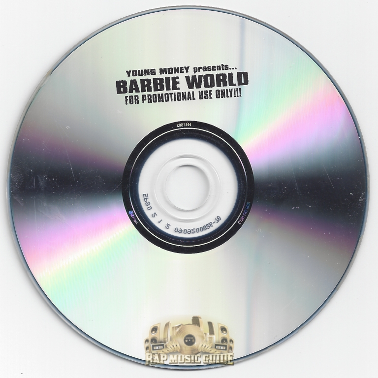 Nicki Minaj Barbie World Cd Rap Music Guide