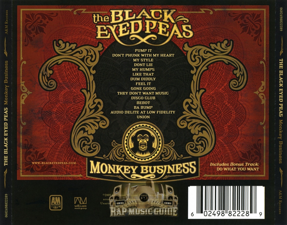 The Black Eyed Peas - Monkey Business: CD   Rap Music Guide