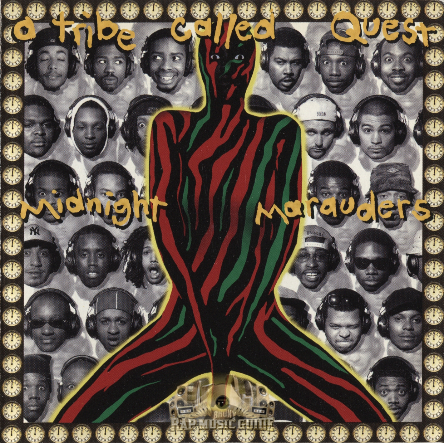 a tribe called quest midnight marauders cd rap music