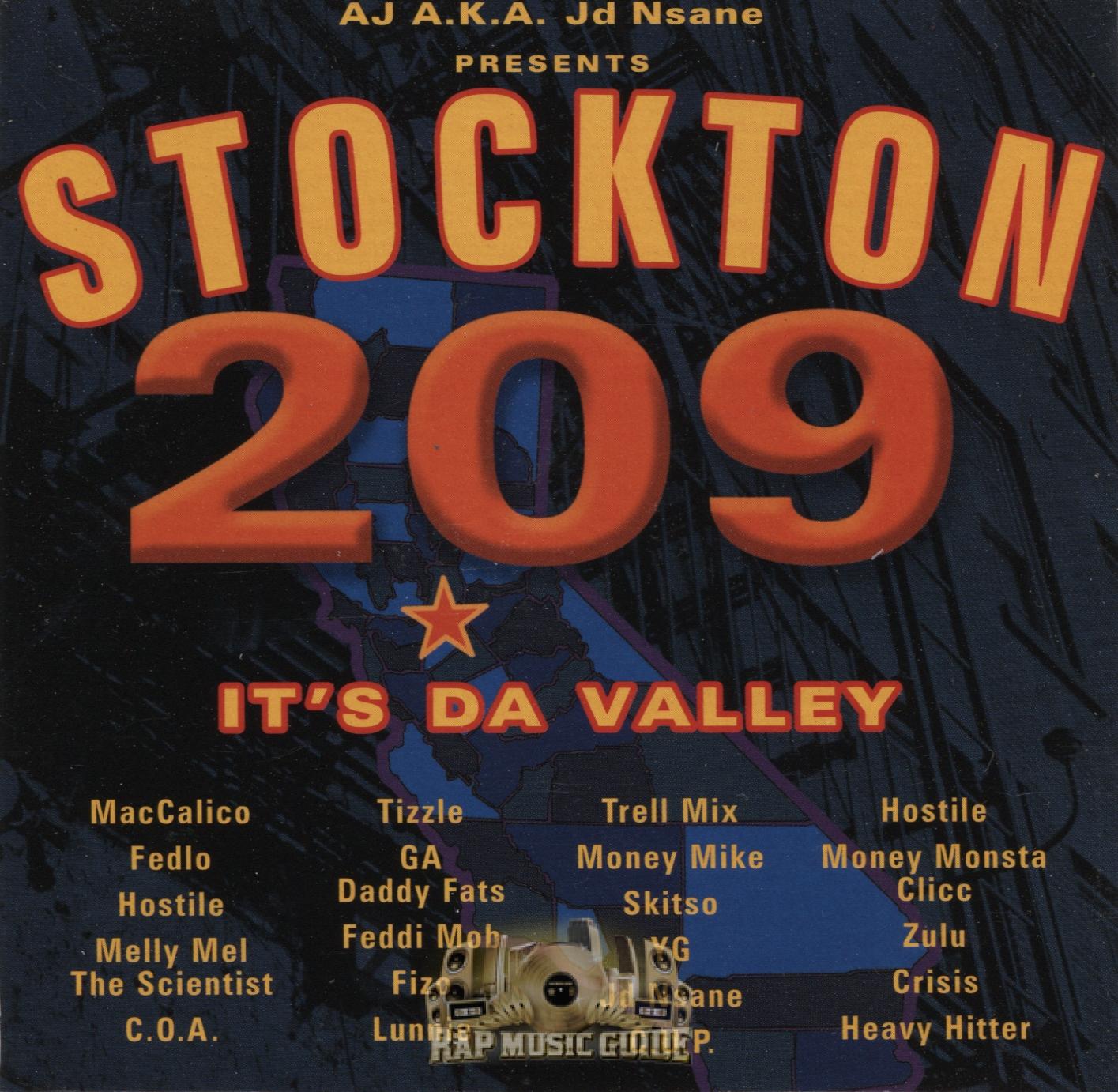 Stockton Its Da Valley CD Rap Music Guide - Where is area code 209