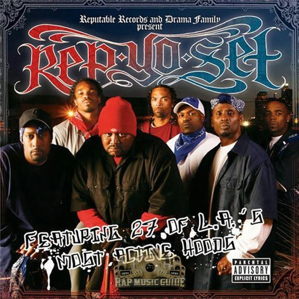Bloods & Crips - Rep Yo Set: CD | Rap Music Guide