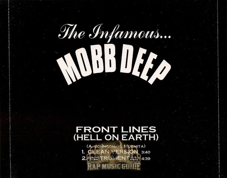 Mobb Deep Front Lines Hell On Earth Promo Single Cd Rap