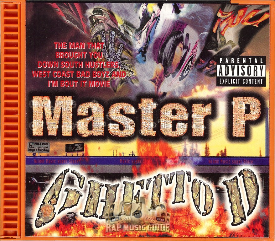 Master P Ghetto D Vinyl Master P Ghetto D Cd Rap Music