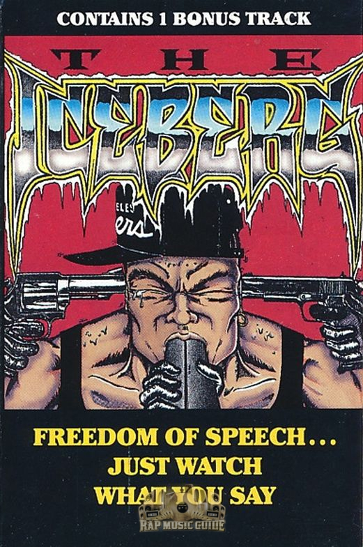 Ice-T - The Iceberg: Freedom Of Speech   Just Watch What You