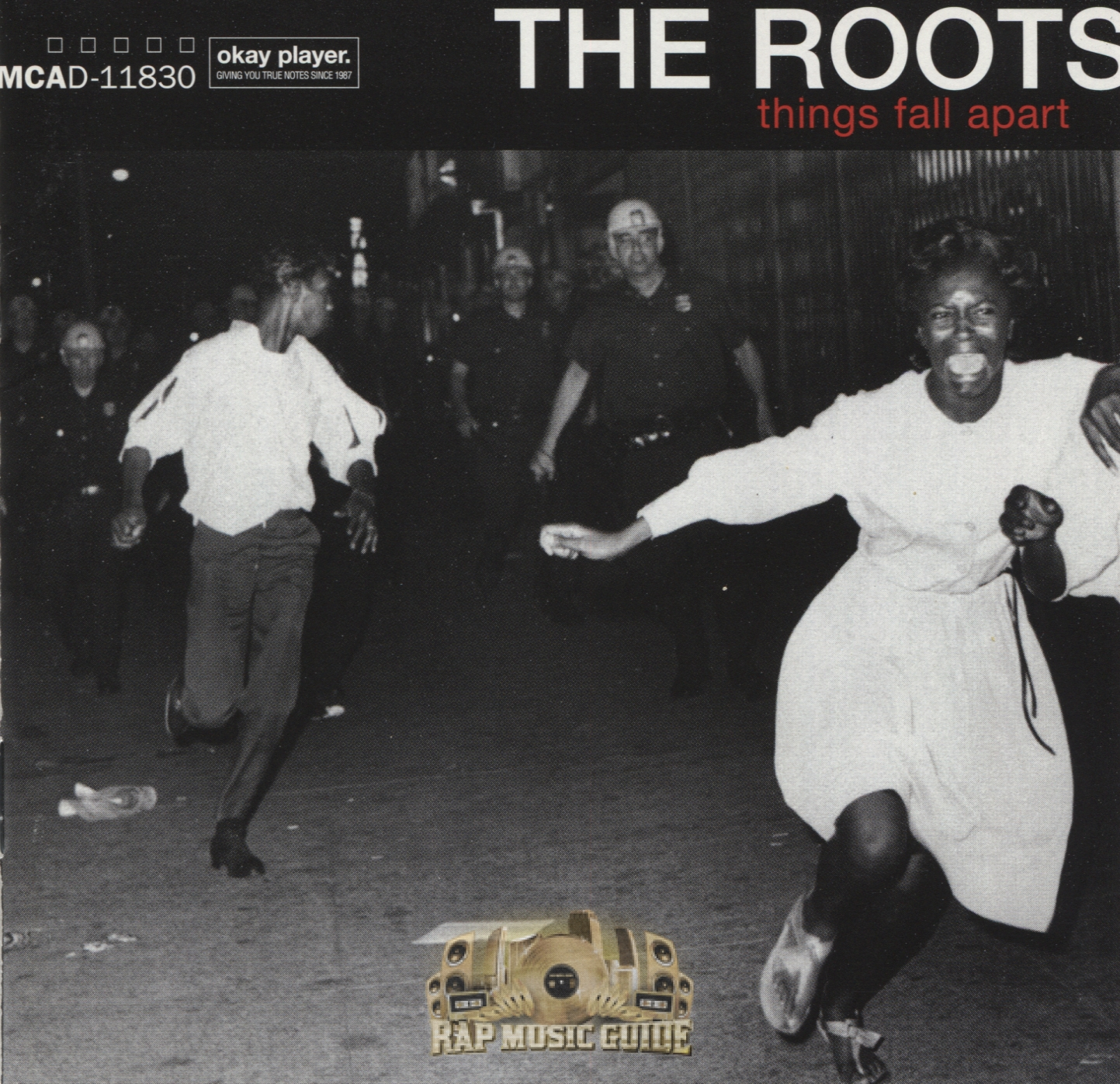 The Roots - Things Fall Apart: 1st Press. CD
