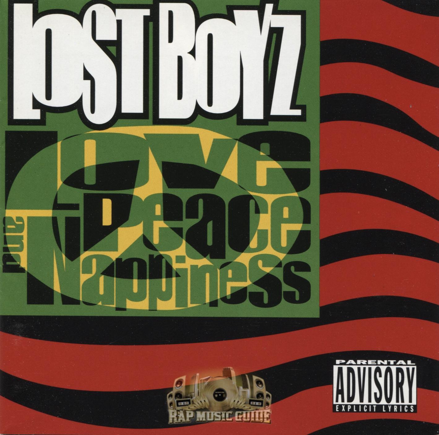 lost boyz love peace nappiness cd rap music guide rh rapmusicguide com Lost Piano Music Lost TV Show Music