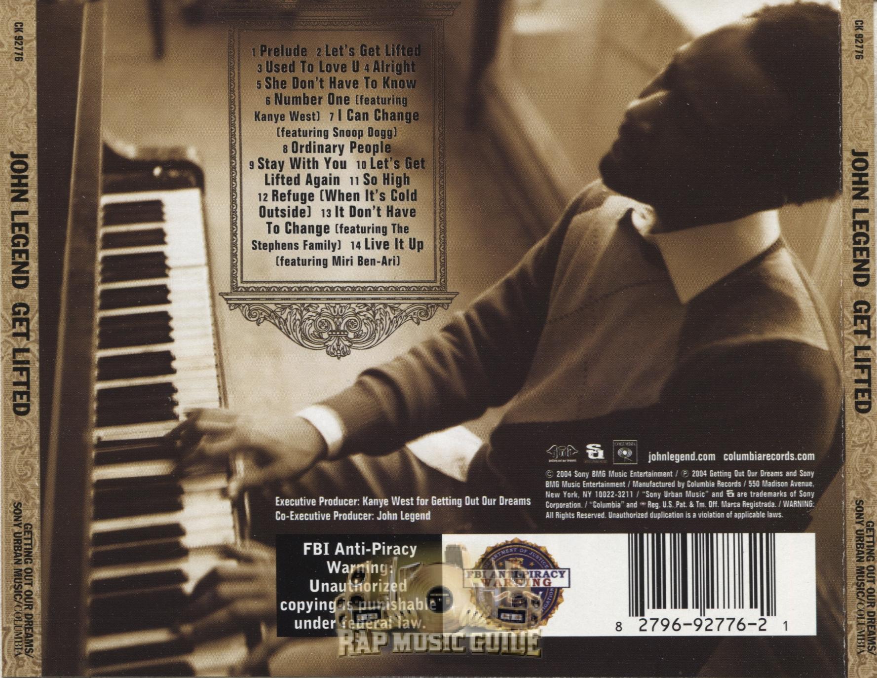 John Legend Get Lifted Album Cover | www.imgkid.com - The ...