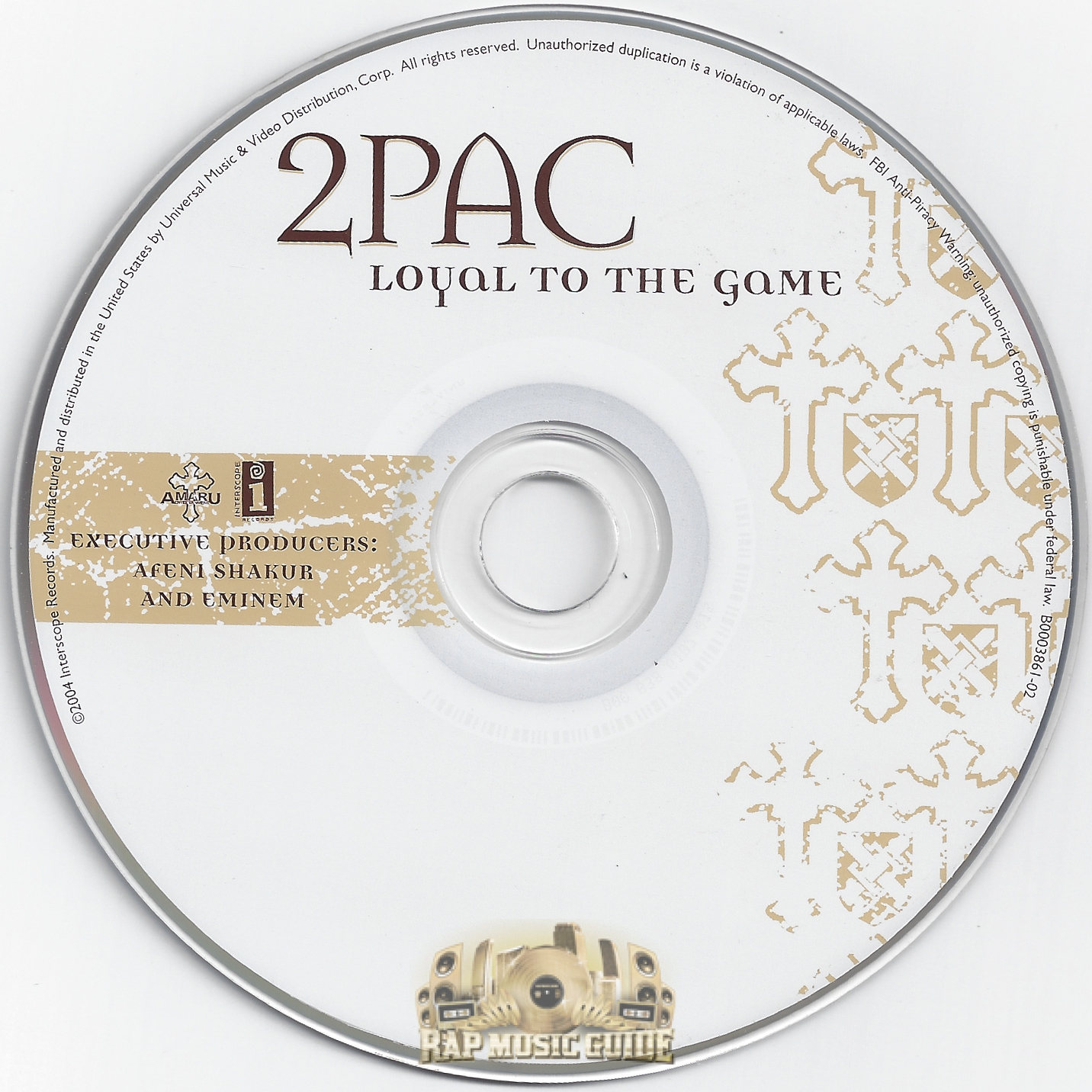 cd 2pac loyal to the game