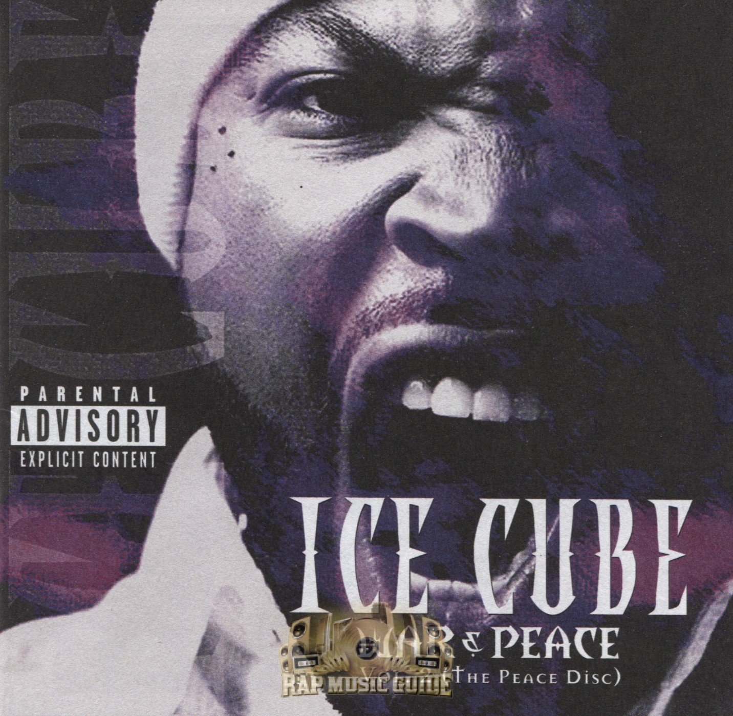 ice cube war peace vol 2 the peace disc cd rap music guide. Black Bedroom Furniture Sets. Home Design Ideas