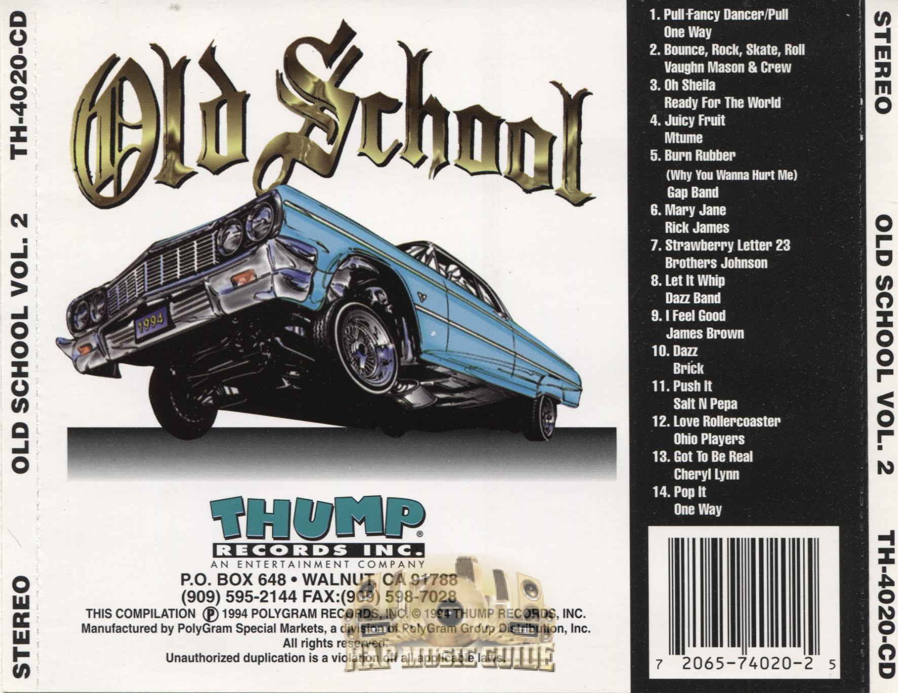 Thump records old school