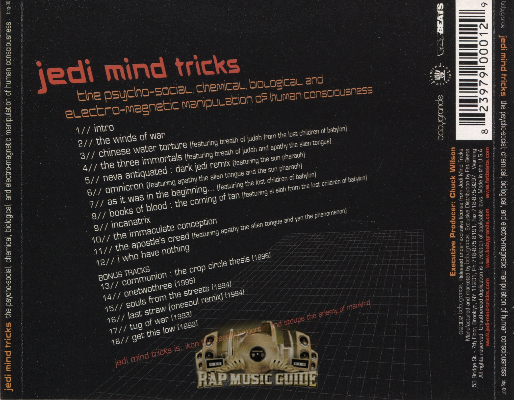 Jedi Mind Tricks - The...