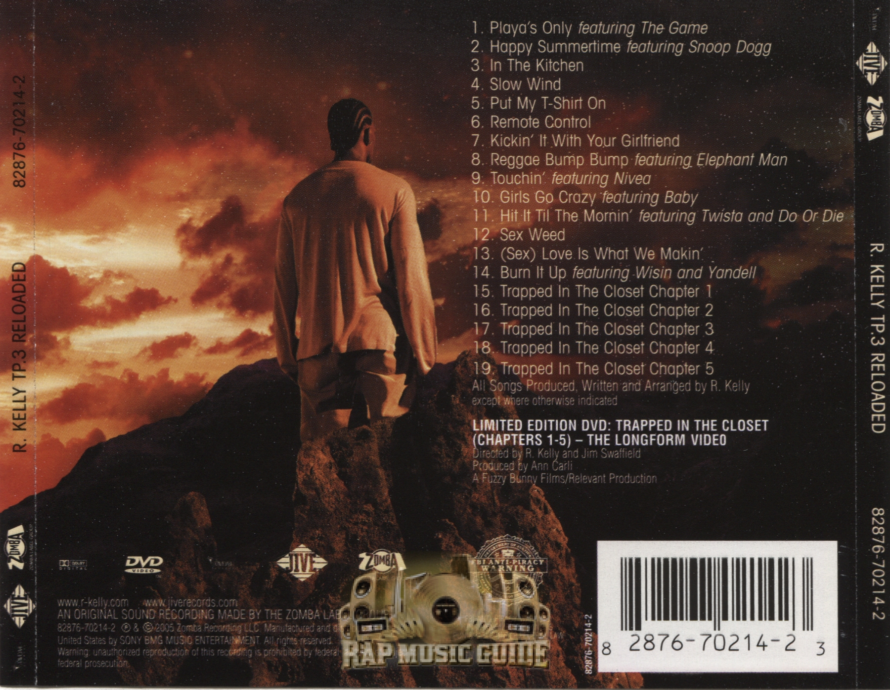 R Kelly Tp 3 Reloaded Cd Rap Music Guide