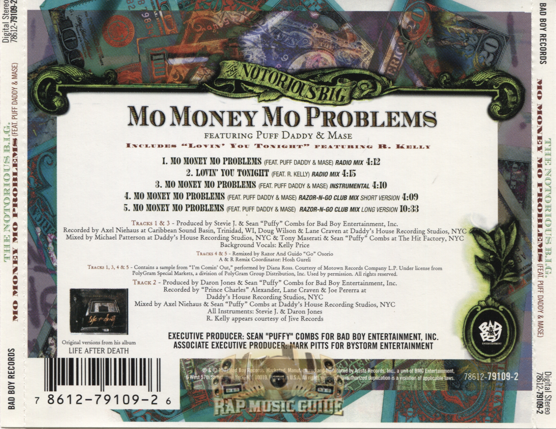 The Notorious B.I.G. - Mo Money Mo Problems: CD | Rap ...
