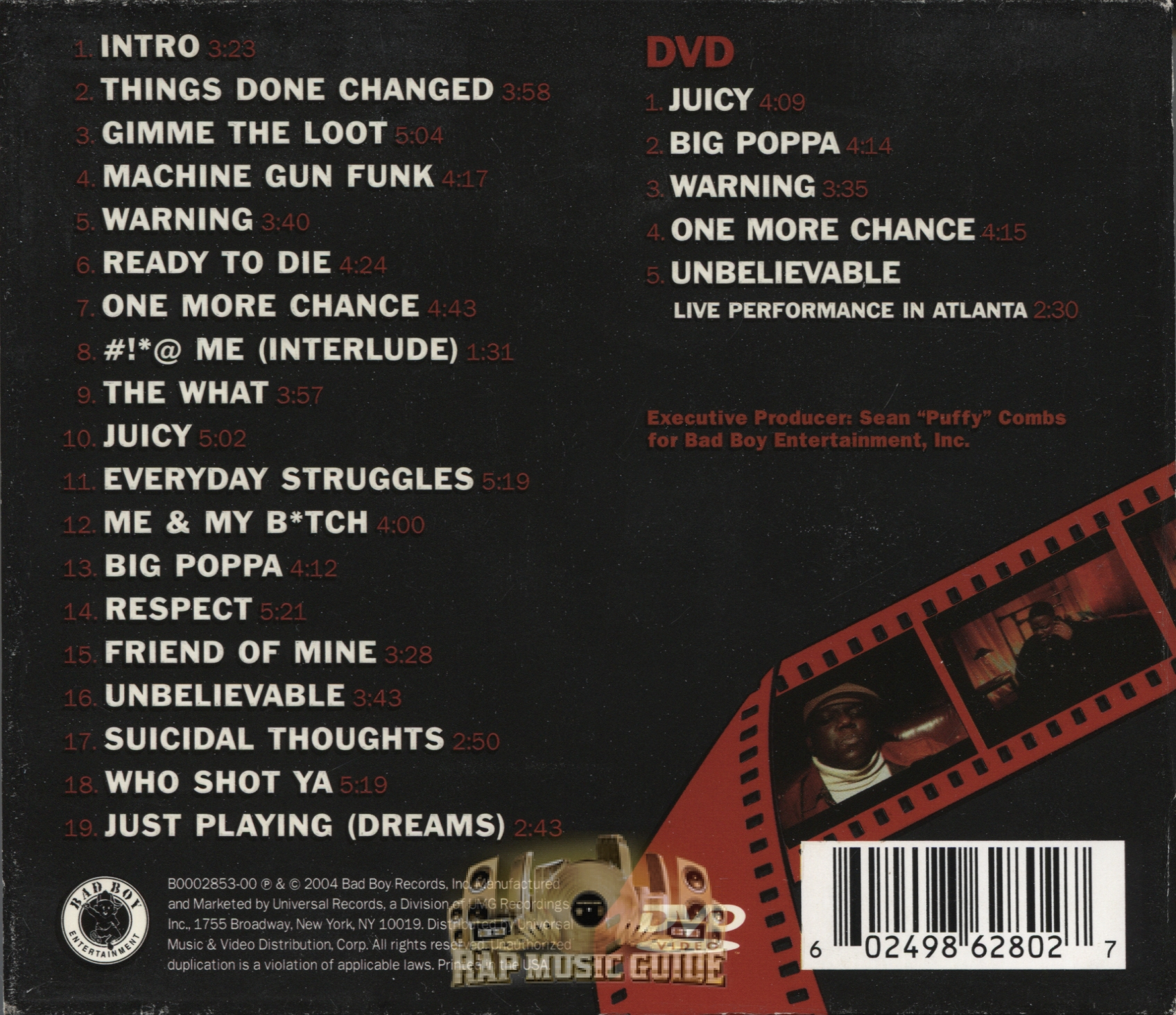 The Notorious B.I.G. - Ready To Die: The Remaster: 3rd ...