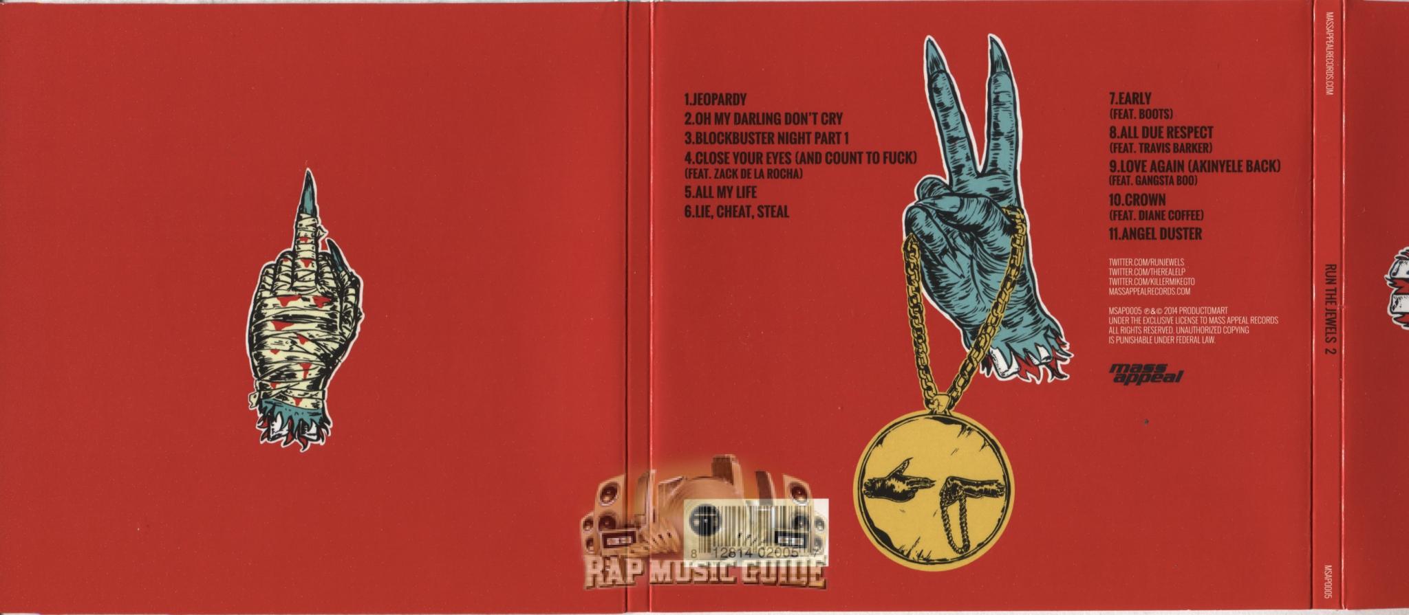 Run The Jewels - Run The Jewels 2: CD | Rap Music Guide