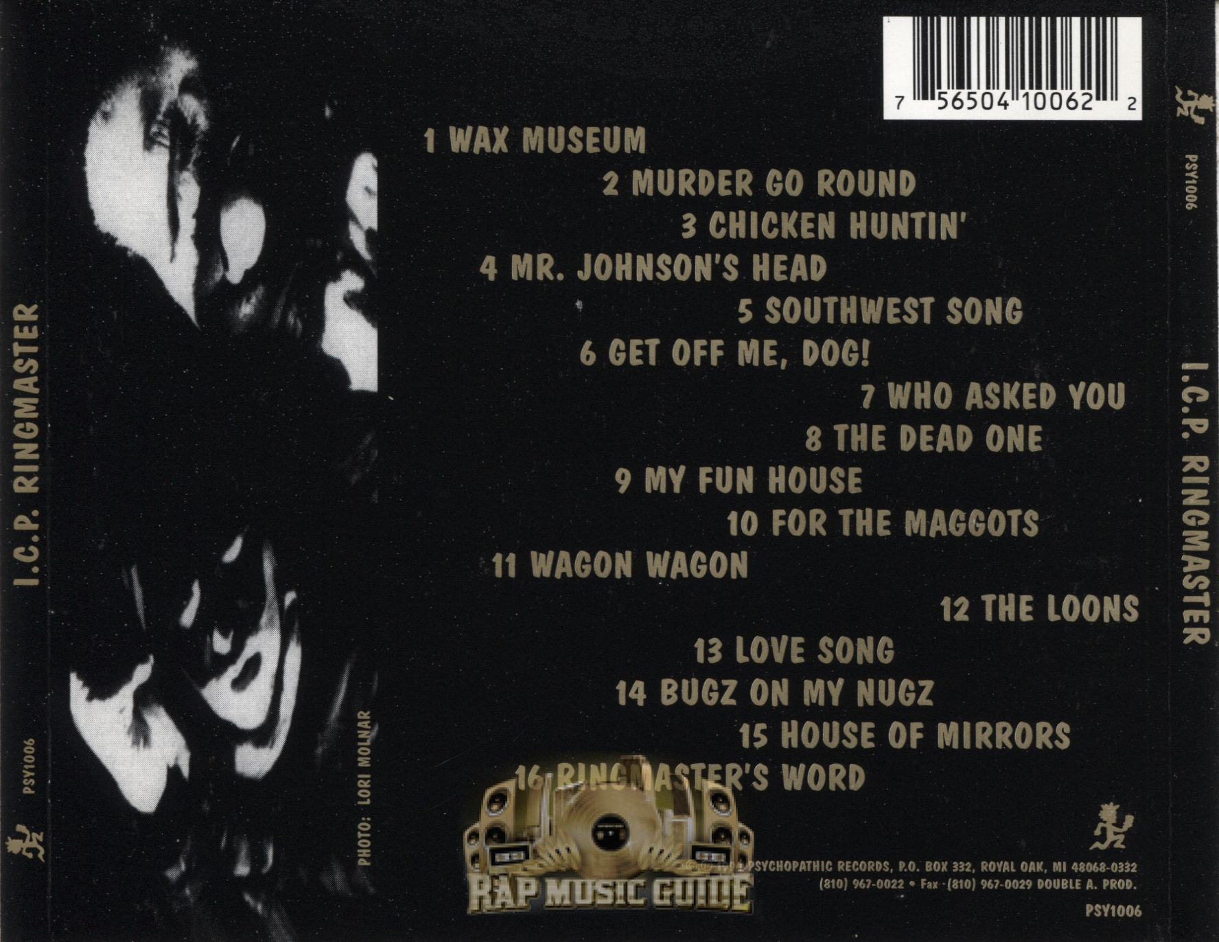 Icp Albums And Songs List Cool insane clown posse - ringmaster: cd | rap music guide