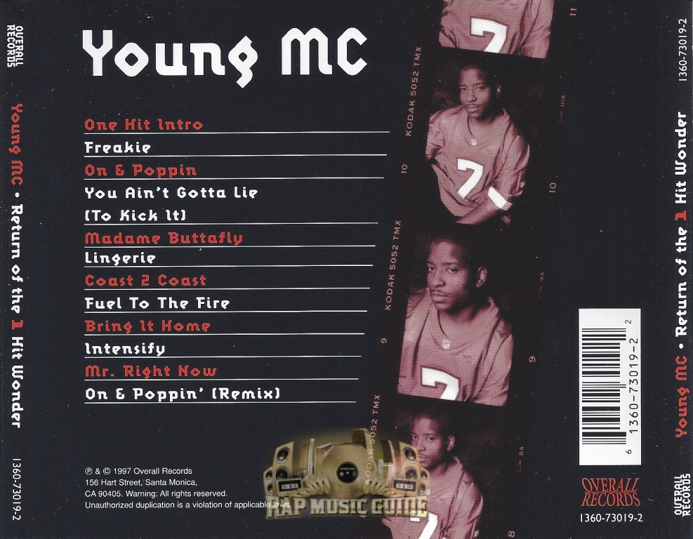 Young MC Return Of The 1 Hit Wonder