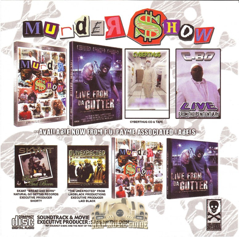 Murder Show - Movie Soundtrack: 1st Press  CD | Rap Music Guide