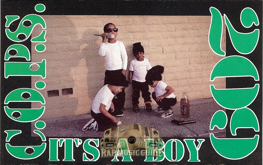 COPS Its A Boy Cassette Tape Rap Music Guide - Where is area code 209