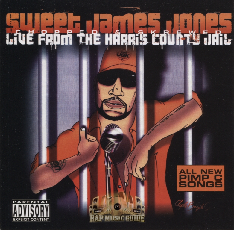 Sweet James Jones - Live From The Harris County Jail: CD