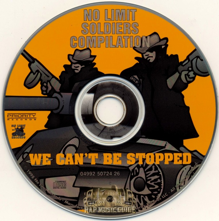 No Limit Soldiers Compilation - We Can't Be Stopped: CD
