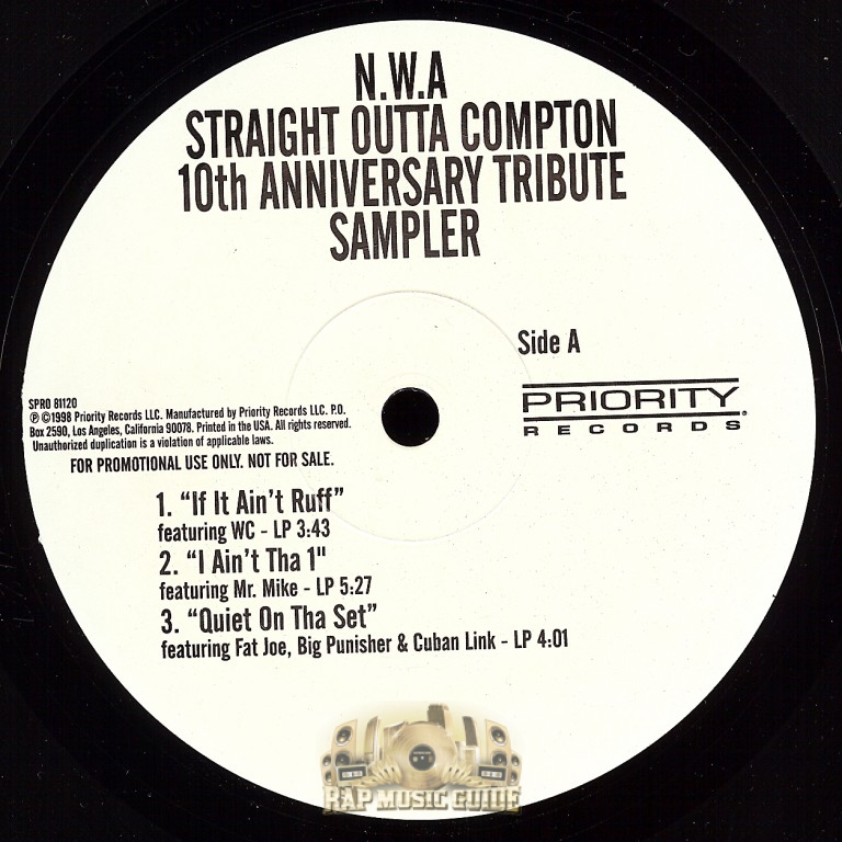 N W A Straight Outta Compton 10th Anniversary Tribute