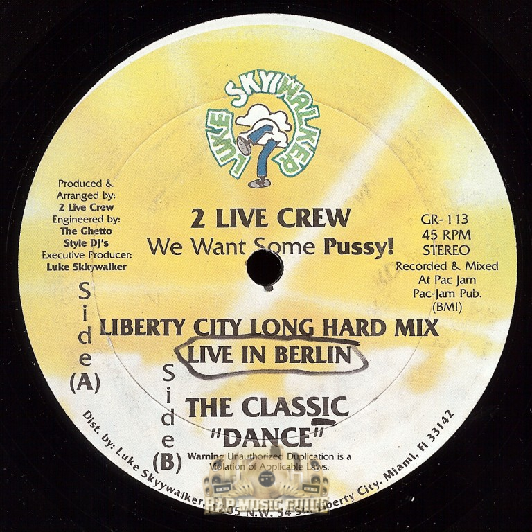 Pity, 2 live crew we want some pussy lyrics understood not