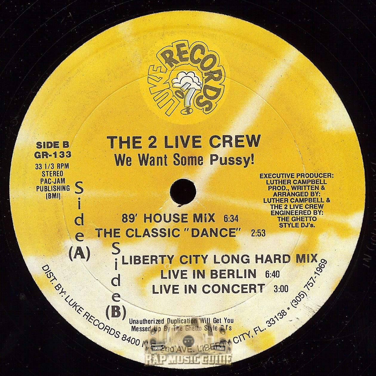 2 live crew we want some pussy lyrics consider, that