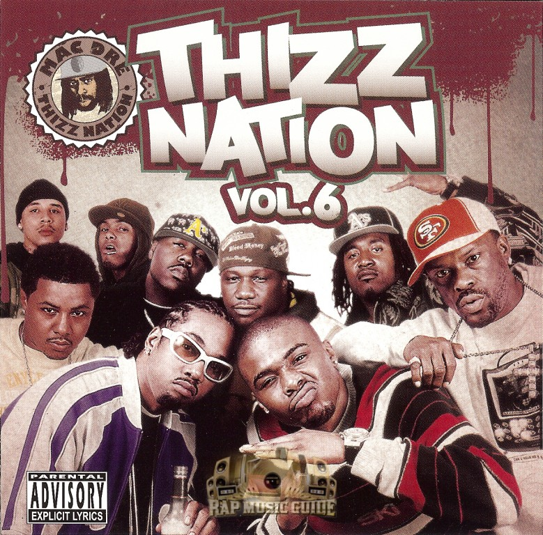 Mac Dre Presents - Thizz Nation Vol  6: CD   Rap Music Guide