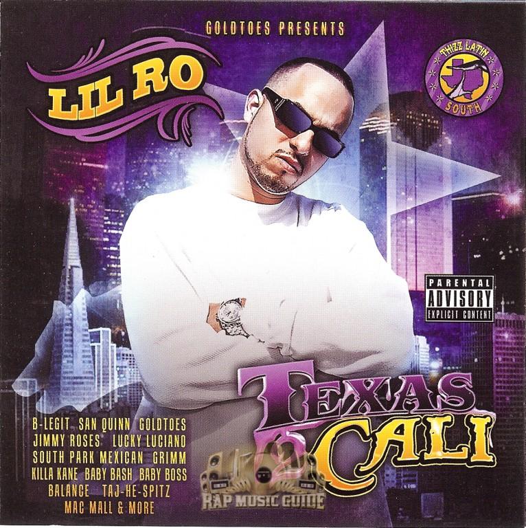 lil ro texas 2 cali cd rap music guide