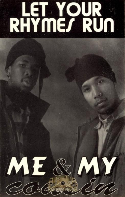 Me My Cousin Let Your Rhymes Run Single Cassette Tape Rap