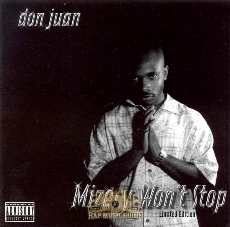 Don Juan - Mizery Won't Stop: CD | Rap Music Guide