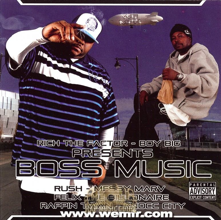 Rich The Factor & Boy Big - Boss Music: CD-R  CD | Rap Music Guide