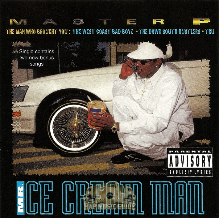 Master P Mr Ice Cream Man Single Cd Rap Music Guide