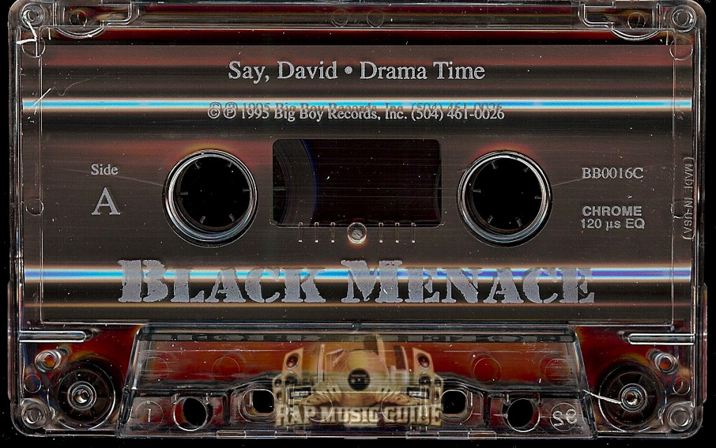 Black Menace Drama Time 35